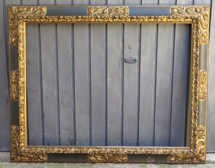 Antiguo y gran marco espa ol estilo barroco po comprar marcos antiguos de cuadros en - Marcos para cuadros grandes ...