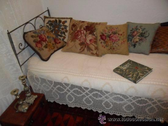 OFERTA ESPECIAL: ANTIGUA CAMA METALICA (Antigüedades - Muebles Antiguos - Camas Antiguas)