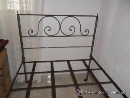 Antigüedades: OFERTA ESPECIAL: Antigua cama metalica - Foto 5 - 49218240