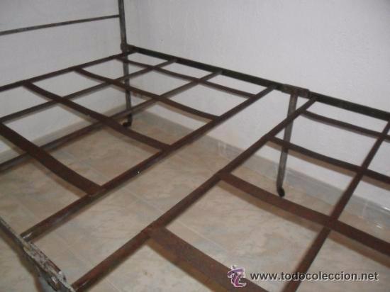 Antigüedades: OFERTA ESPECIAL: Antigua cama metalica - Foto 6 - 49218240