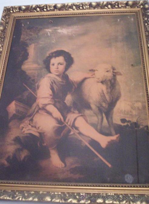 ANTIGUO MARCO DORADO (Antigüedades - Hogar y Decoración - Marcos Antiguos)