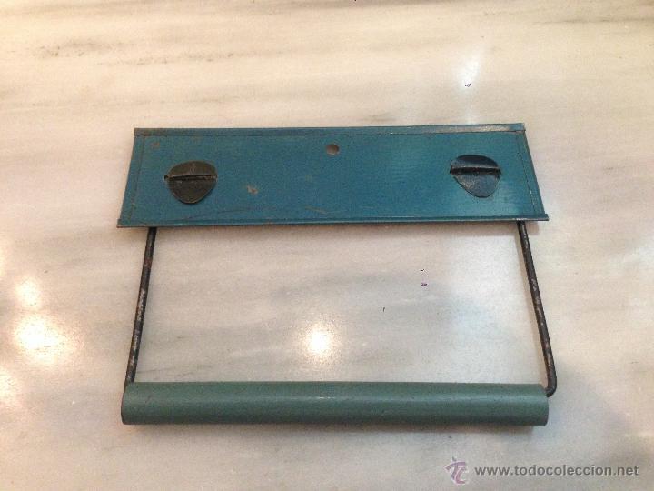 Soporte de Papel higi/énico toallero Cuerda Colgante de Toalla de Tejido Vintage HZL Soporte Industrial de Papel higi/énico Vintage Suministros