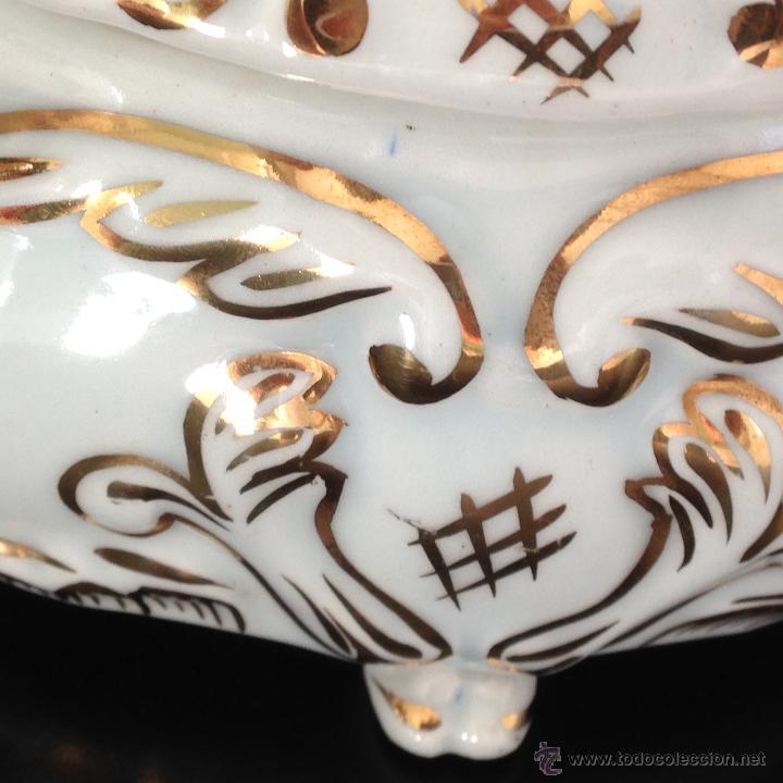 Antigüedades: CAJA JOYERO DE PORCELANA - Foto 7 - 49248384