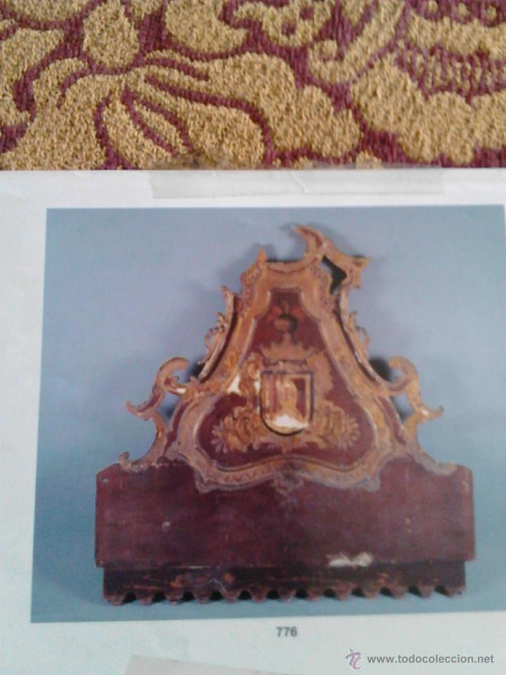 Antigüedades: Cama del siglo dieciocho - Foto 4 - 49266369