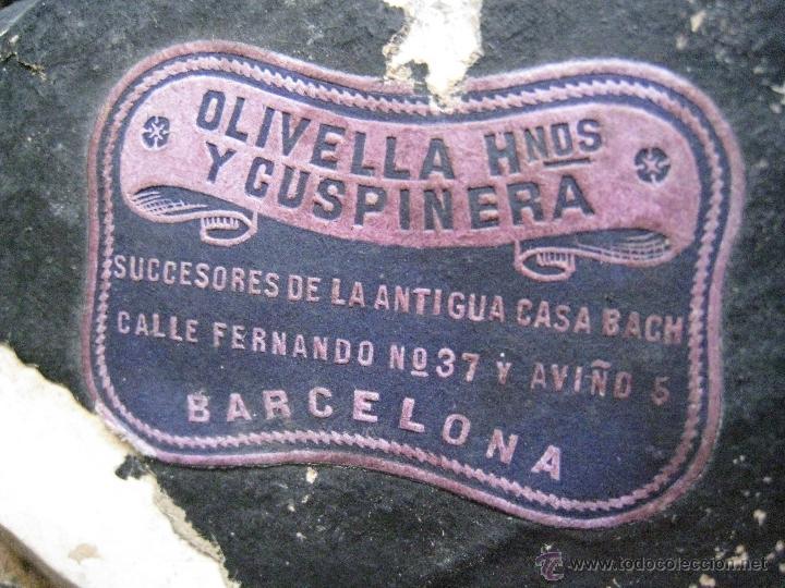 Antigüedades: BENDITERA CON TIMPANO EN ESPUMA DE MAR. S.XIX - Foto 8 - 49277843