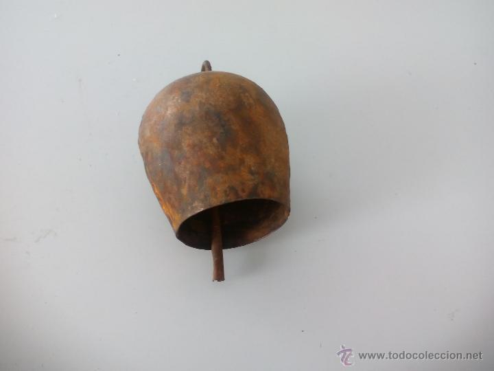 CENCERRO ANTIGUO, CAMPANA O CASCABEL . 8 CM. (Antigüedades - Técnicas - Rústicas - Ganadería)