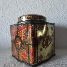 Antigüedades: LATA COFFEE DE DODO CANISTER MADE IN ENGLAND. Lote 49286735