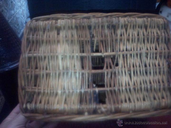 Antigüedades: CANASTO DE MIMBRE - Foto 2 - 49295608