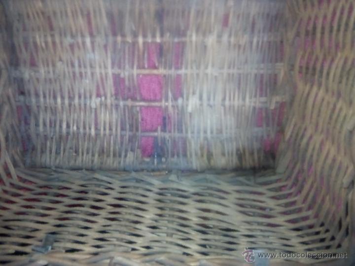 Antigüedades: CANASTO DE MIMBRE - Foto 4 - 49295608