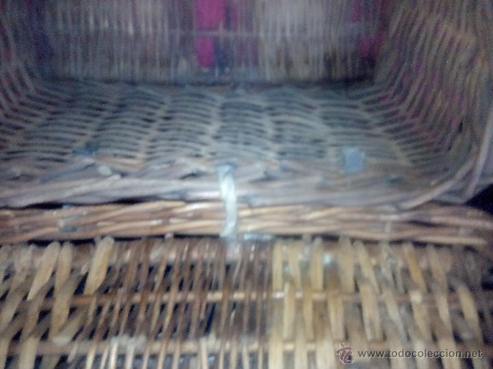 Antigüedades: CANASTO DE MIMBRE - Foto 5 - 49295608
