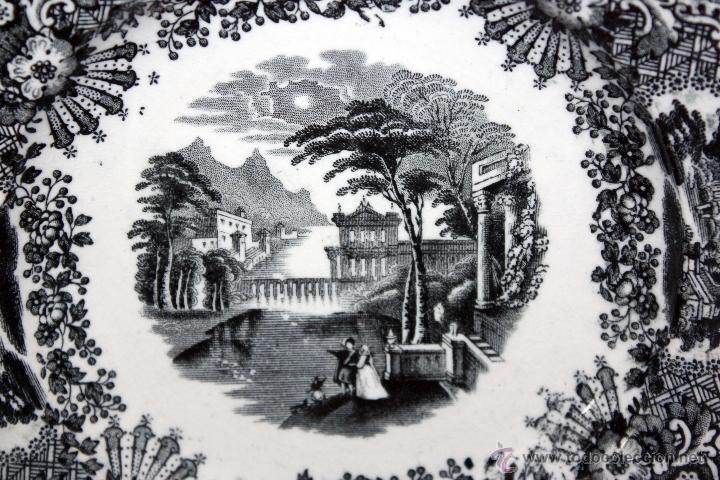 Antigüedades: PLATO EN CERÁMICA DE (PICKMAN) DE PRINCIPIOS DEL SIGLO XX - Foto 2 - 99939175