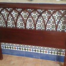 Antigüedades: CABECERO DE CAMA. Lote 49313579
