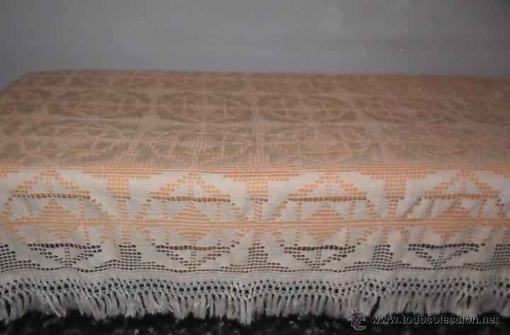 Antigüedades: Antigua colcha Art Deco - Foto 3 - 49318442