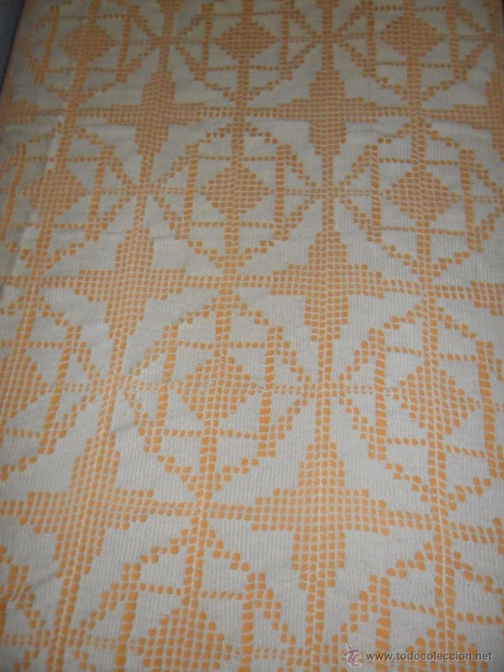 Antigüedades: Antigua colcha Art Deco - Foto 6 - 49318442