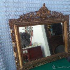 Antigüedades: ESPEJO DORADO. Lote 49324184
