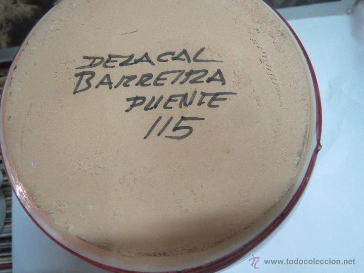 Antigüedades: JARRA PUENTE DEL ARZOBISPO 25 CM. - Foto 3 - 49324416