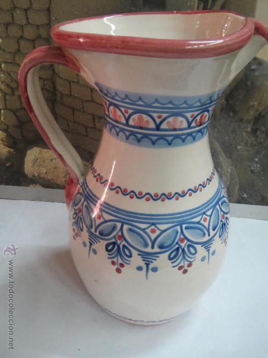 JARRA PUENTE DEL ARZOBISPO 25 CM. (Antigüedades - Porcelanas y Cerámicas - Puente del Arzobispo )