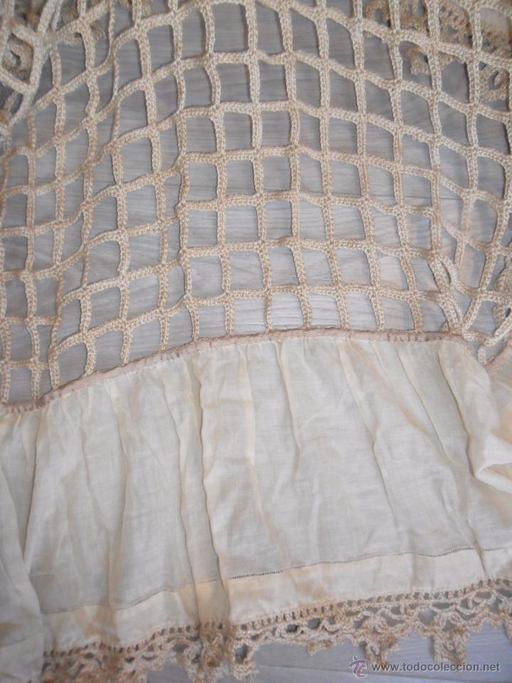 Antigüedades: Antigua colcha años 20 - Foto 5 - 49331672
