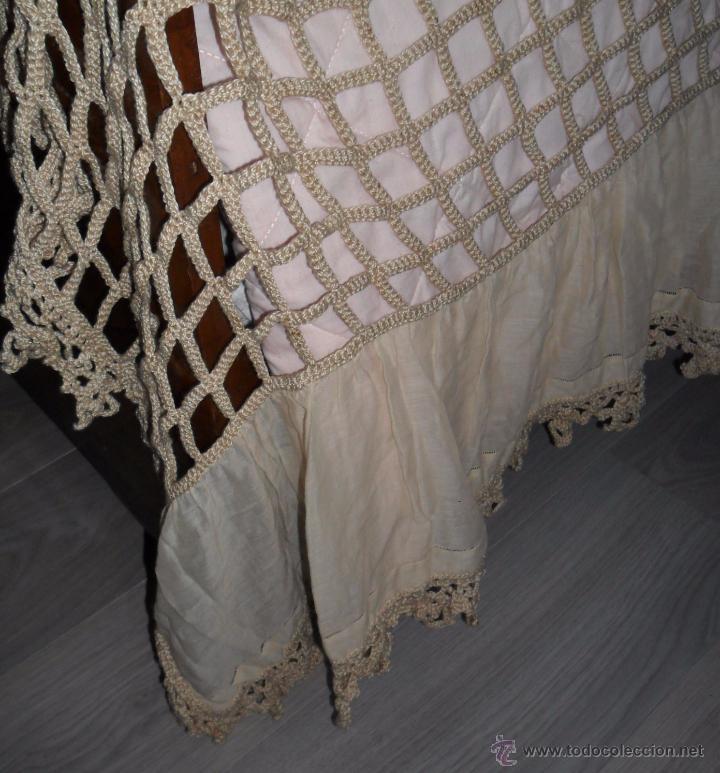 Antigüedades: Antigua colcha años 20 - Foto 6 - 49331672