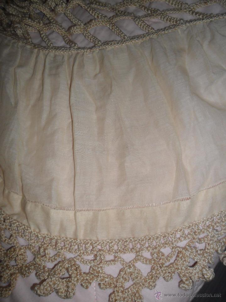 Antigüedades: Antigua colcha años 20 - Foto 8 - 49331672