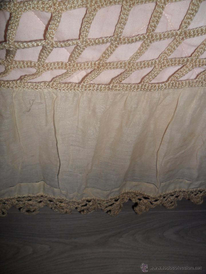 Antigüedades: Antigua colcha años 20 - Foto 9 - 49331672
