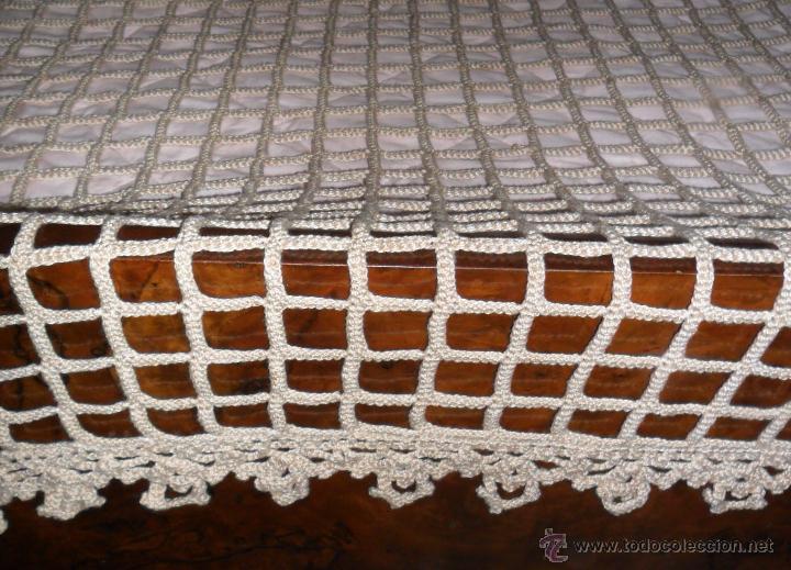 Antigüedades: Antigua colcha años 20 - Foto 11 - 49331672