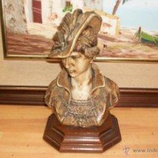 Antigüedades: ANTIGUO BUSTO DE MUJER. Lote 49335343