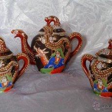 Antigüedades: JUEGO CAFE PORCELANA JAPONESA. Lote 49338779