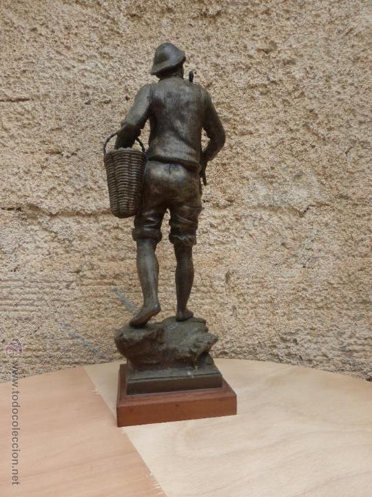 Antigüedades: PAREJAS DE FIGURAS CALAMINA - Foto 12 - 49344390