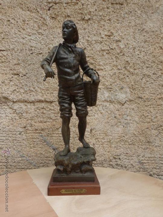 Antigüedades: PAREJAS DE FIGURAS CALAMINA - Foto 13 - 49344390