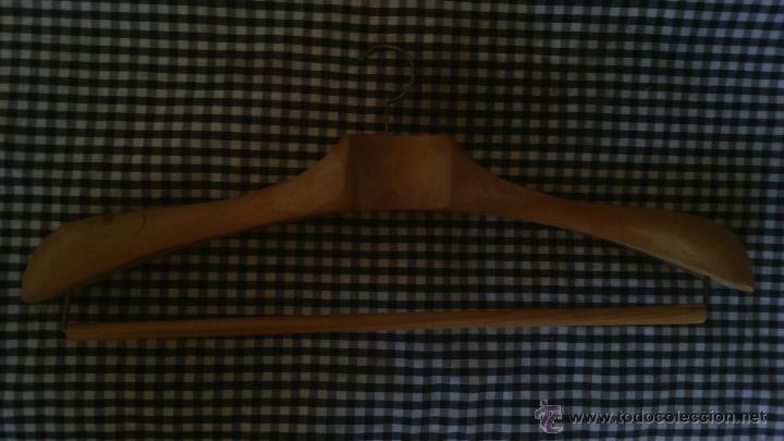 Antigüedades: percha de traje - Foto 2 - 49359626