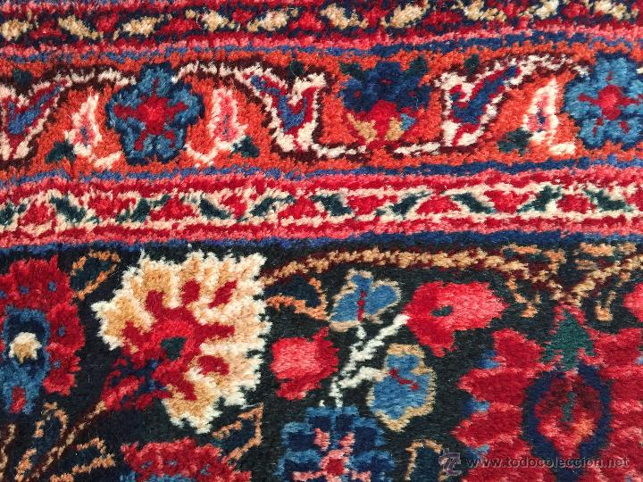 Antigüedades: 300x206cm Alfombra kaschmir, (persa) anudada a mano de lana pura - Foto 3 - 49359844