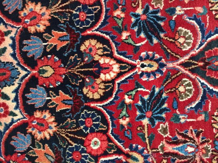 Antigüedades: 300x206cm Alfombra kaschmir, (persa) anudada a mano de lana pura - Foto 4 - 49359844