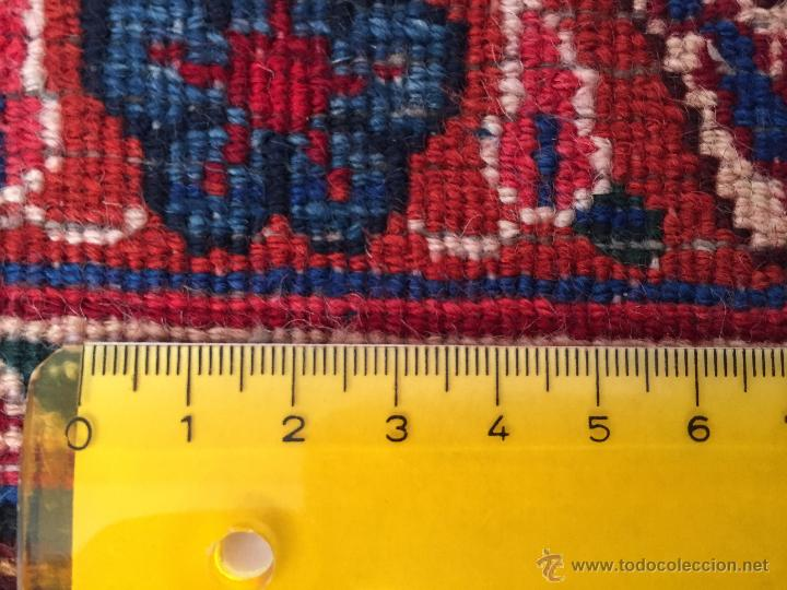 Antigüedades: 300x206cm Alfombra kaschmir, (persa) anudada a mano de lana pura - Foto 5 - 49359844