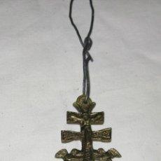 Antigüedades: PEQUEÑA CRUZ DE CARAVACA. Lote 49376500