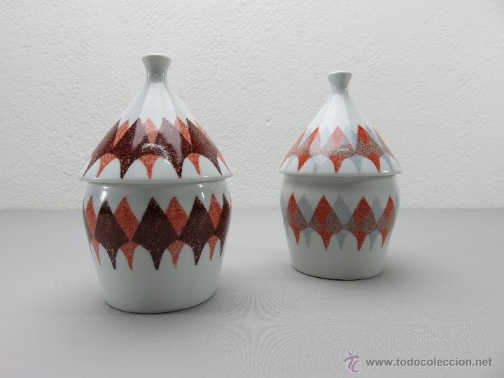 BOTES DE PORCELANA CASTRO SARGADELOS (Antigüedades - Porcelanas y Cerámicas - Sargadelos)