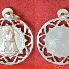 Antigüedades: MEDALLA EN PLATA CALADA 916 MILESIMAS VIRGEN DESAMPARADOS VALENCIA. Lote 49389483