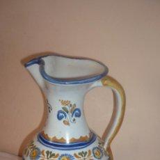 Antigüedades: PRECIOSA JARRA DE TALAVERA FIRMADA. Lote 49398158