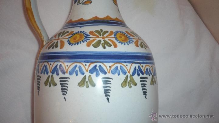 Antigüedades: PRECIOSA JARRA DE TALAVERA FIRMADA - Foto 4 - 49398158