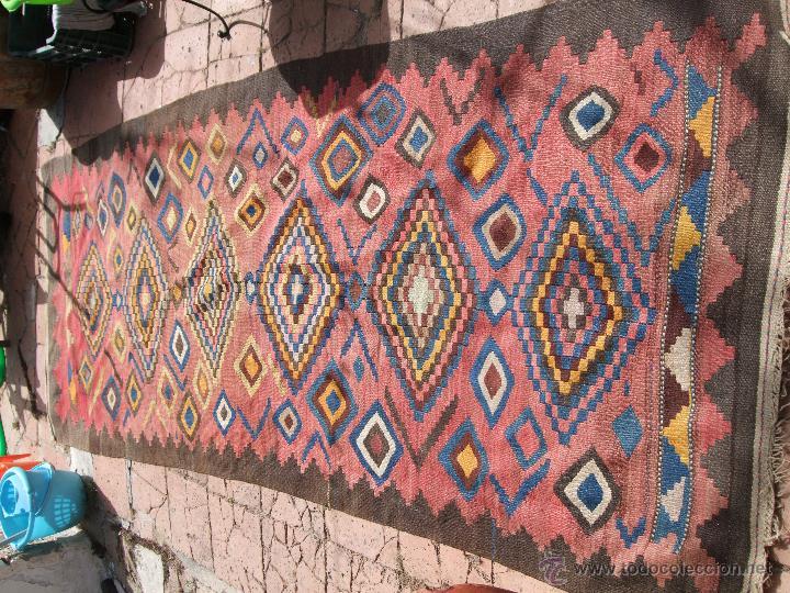 Kilim afgano tejido a mano comprar alfombras antiguas for Kilim alfombras online