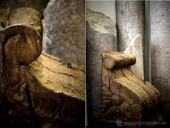 Antigüedades: OFERTA! 6 ménsulas de madera tallada del siglo XVII - Foto 2 - 49418039