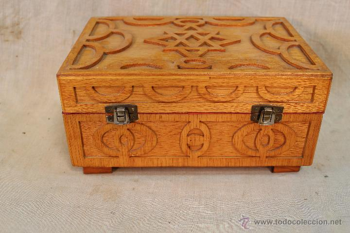 Caja joyero en madera con marqueteria comprar cajas - Madera para marqueteria ...