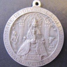 Antigüedades: MEDALLA DE LA CORONACIO DE LA MARE DE DEU DE LA GLEVA. MCMXXIII. 1923. FIRMADA SUNYER. DIAM. 4 CM. Lote 49429868