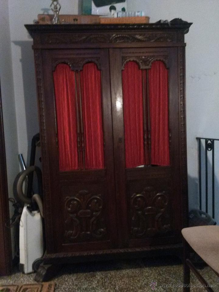 Artesanato Gaucho Historia ~ espectacular armario antiguo de madera noble us Comprar Armarios Antiguos en todocoleccion