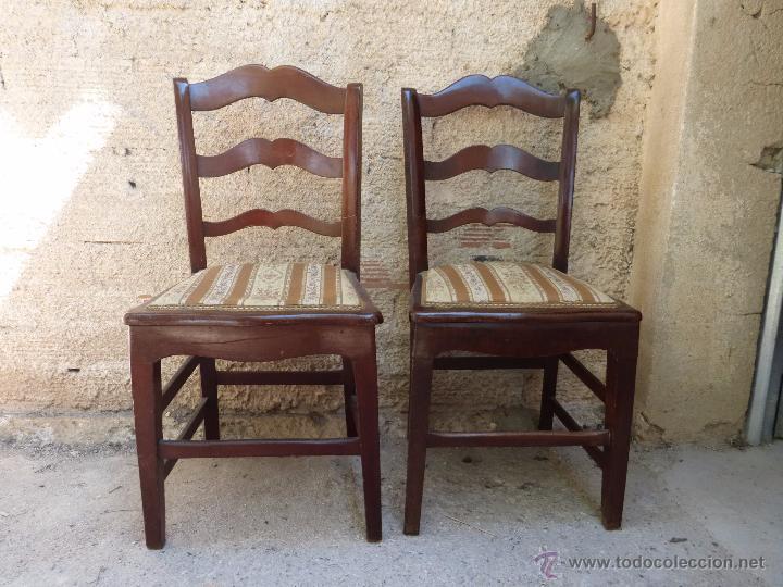 SILLAS ISABELINAS (Antigüedades - Muebles Antiguos - Sillas Antiguas)