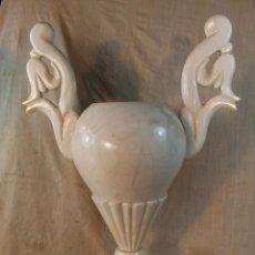 Antigüedades: JARRON EN ALABASTRO. Lote 49456892