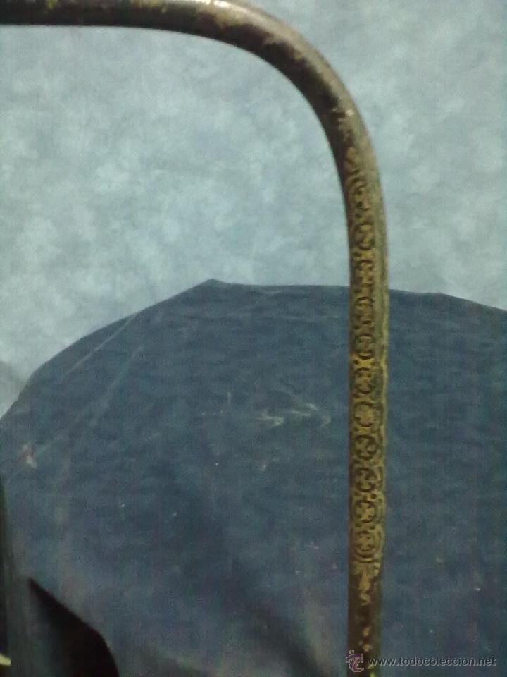 Antigüedades: PIECERA MAS DOS CABECEROS DE HIERRO PARA RESTAURAR CAMA - Foto 11 - 49462045