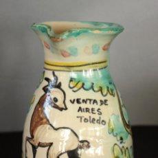 Antigüedades: JARRA DE CERÁMICA PUENTE DEL ARZOBISPO (VENTA DE AIRES TOLEDO). Lote 51134367