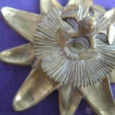 Antigüedades: ANTIGUA PIEZA DE BRONCE PATINADO.. Lote 49469630