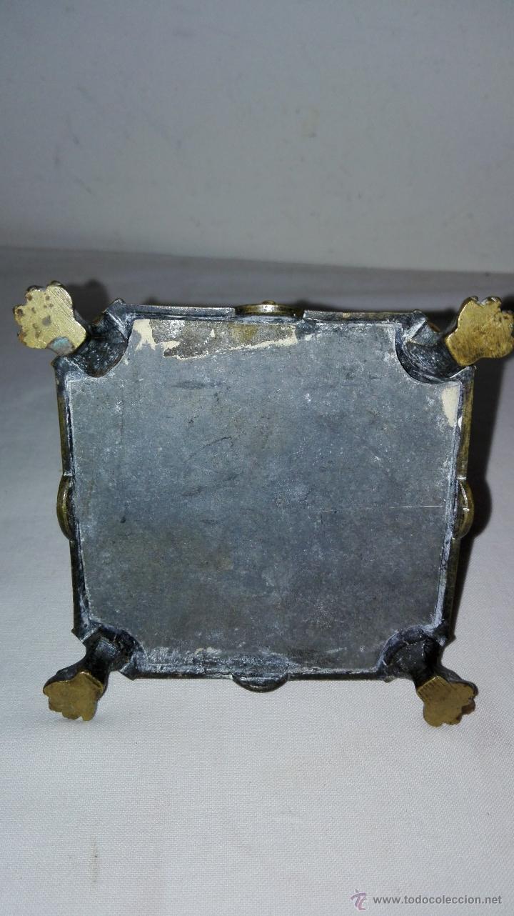 Antigüedades: PAREJA DE CANDELEROS IMPERIO EN BRONCE - SIGLO XIX - Foto 4 - 49480693